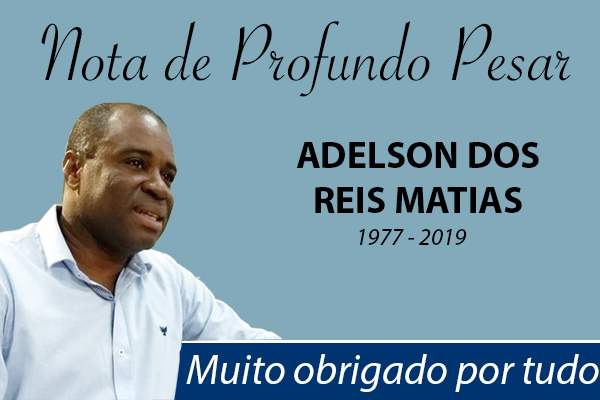 Nota de Profundo Pesar - Vereador Adelson do Hospital